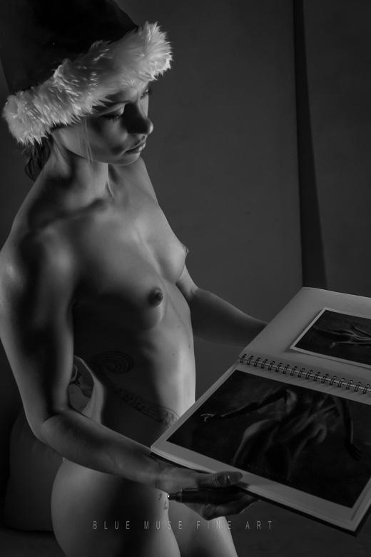 Blue Muse Fine Art - Sexy Santa III - 2014.
