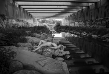 Blue Muse Fine Art with Shelby Griffin - Under The Bridge 11 - 2017