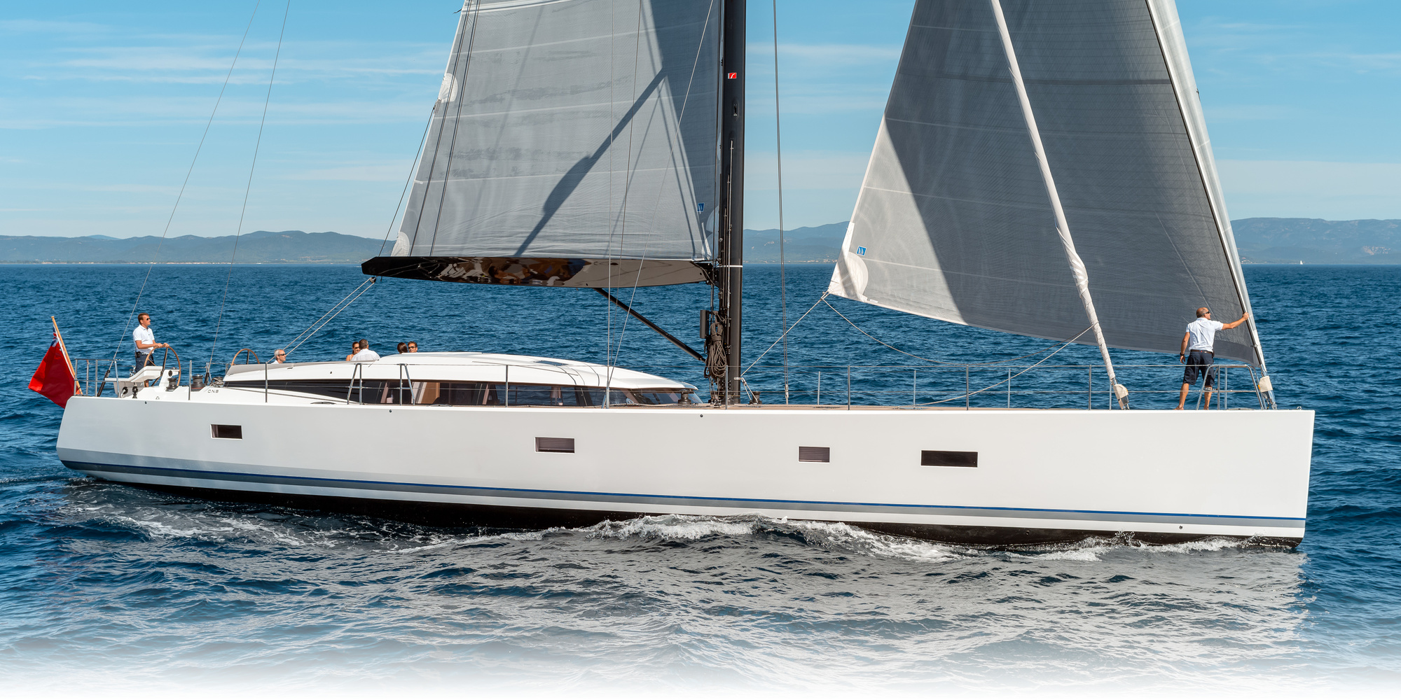 CNB 76 At Miami Boat Show February 2015 Bluenose Yachts