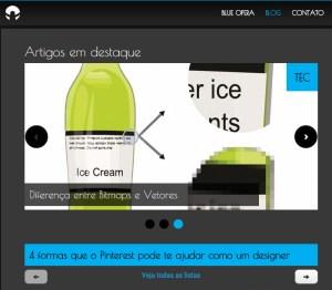exemplo de sliders (www.blueopera.com.br/blog)