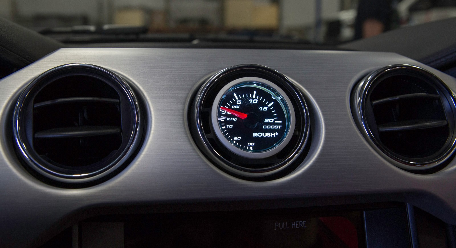 2015 2017 Ford Mustang Roush 2 116 Boost Gauge Amp AC