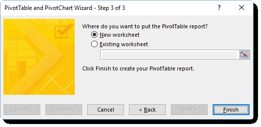 Understanding the excel pivottable cache using excel tables ccuart Choice Image