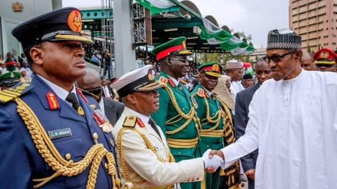Updated: Irabor, Attahiru, other new Service Chiefs Buhari just appointed