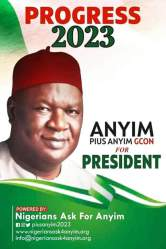 2023: Anyim denies presidential campaign posters