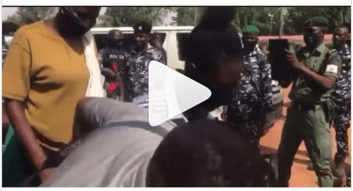 VIDEO: Released Afaka students finally reunite with parents