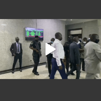 VIDEO: Watch as IPOB leader, Nnamdi Kanu, leaves, Court adjourns case to November 10