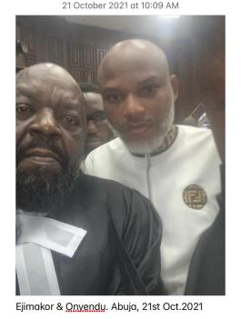 Breaking: I'm not guilty, Nnamdi Kanu responds to FG's amended charges