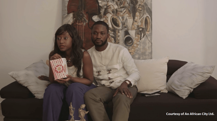 An African City, Sex and the City, TV show, webseries, set design