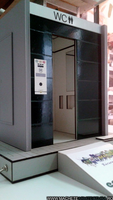 Eco Toilet Design Detailed Architectural Model ... on Model Toilet Design  id=90779