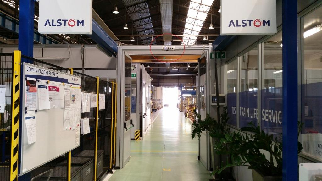 Alstom Factory - indoor BLE asset tracking with BLE