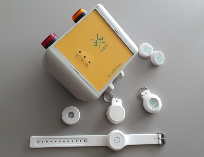 BluEpyc Stand Alone BLE Starter Kit for people assemblies Zone Alarm