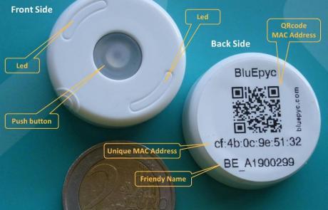 BluEpyc BLE Disk Beacon 2019 Feature