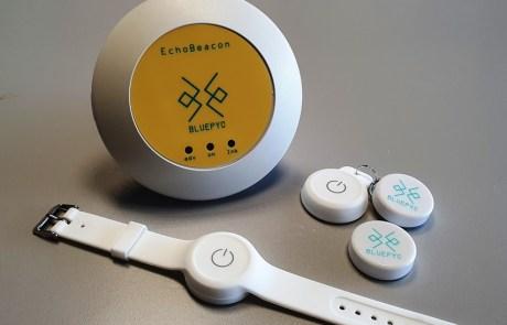 BluEpyc EchoBeacon and Beacon for People Assemblies Allarm
