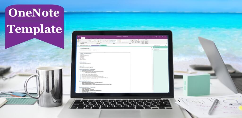 How to Create a OneNote Template - Event Planning Template