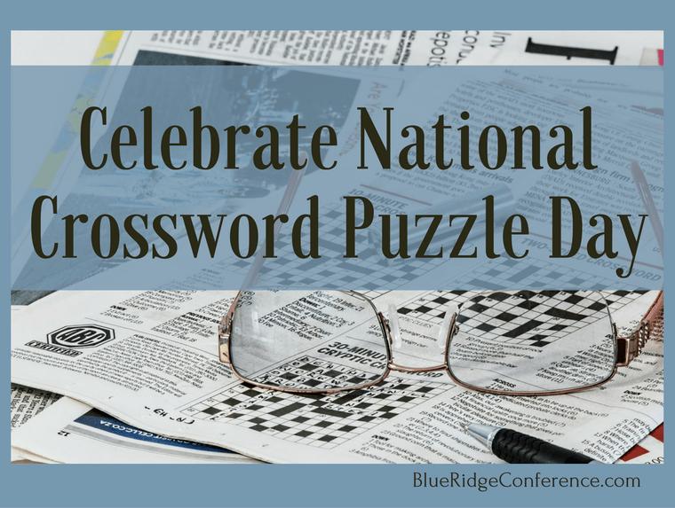 Celebrate National Crossword Puzzle Day Blue Ridge Mountains