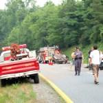 Faber:  Major accident shuts down Route 29 North near Twin Poplars & Buck Creek