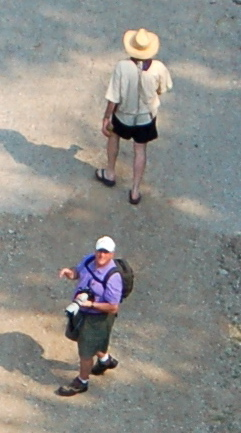 Paul on ground