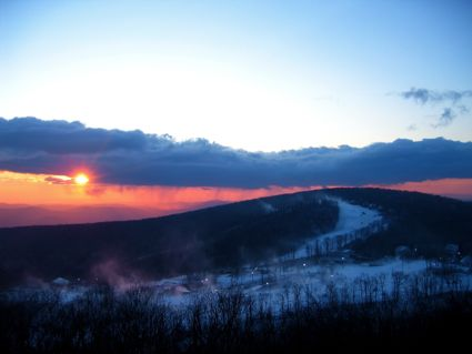CK-Overlook Snow Sunrise