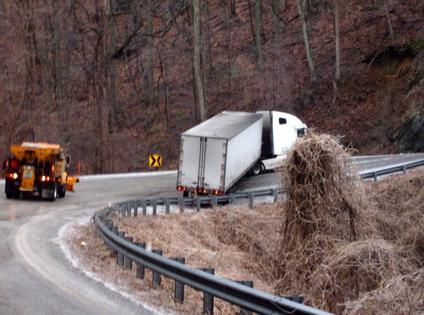 Chappell Truck Stuck