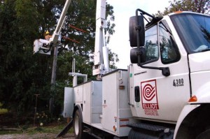 Elliot Contractos out of Roanoke continue installing roughly 15 new BPL boxes per day while waiting on Verizon.