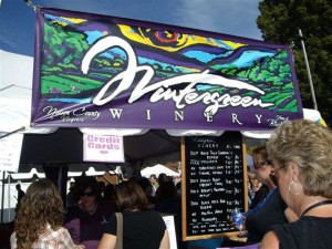 All Photos By Milly Colella : Wintergreen Winery was one of a few Nelson Wineries on hand for the festival.