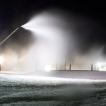 Snow Making Continues At Wintergreen