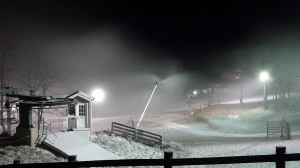 Temperatures at Wintergreen have remained near or below freezing for most of the week.