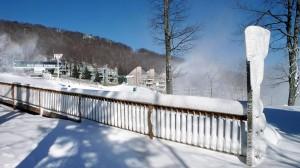 Photos By Paul Purpura : The view at Wintergreen Resort as of Saturday morning 11.22.08
