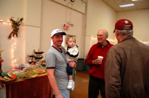 Phillip Thompson and son John from Beech Grove showed up to check out the market too!