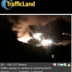 I-81 Fiery Accident at Exit 227 Verona Exit - ALL LANES NOW OPEN