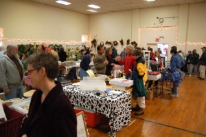 The next community market will be in January on the first Saturday of the month.
