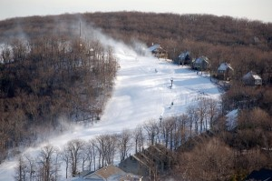 Photo By Tommy Stafford ©2008 NCL : The slopes are in perfect shape at Wintergreen Resort for this weekend's skiing.