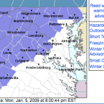 Winter Weather Advisory Continues Until 11PM Tonight : Updated 10:30 AM