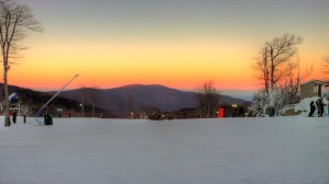 Photo By Paul Purpura : ©2009 : Sunset At Wintergreen Resort, Virginia - Click images for larger view.