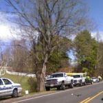 Albemarle County Police Hold Huge Roadblock on Route 250 West of Greenwood, VA : 3.30.09