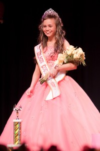Junior Miss Nelson winner, Sonora Lynn Jamerson
