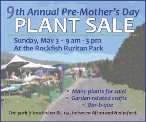 The annual Pre-Mother's Day Plant Sale will be held this coming Sunday as well. - Click for larger view.