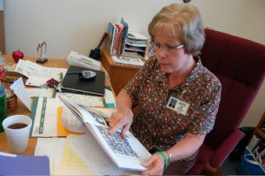 RRES Principal Nita Hughes remembering Opal Page – ®2009 NelsonCountyLife.com