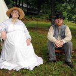 A Day Of Music & Re-enactment At The Dodd Cabin : 6.14.09