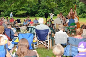 Music is held at Humpback Rocks every Sunday weekly from 5/31/2009 to 10/11/2009