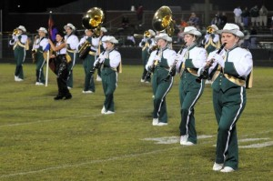 Photo By Paul Purpura : ©2008-2009 NCL Magazine : : The half-time performance during the 2008 NCHS Homecoming Game.