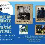 Brew Ridge Trail Music Festival This Saturday!