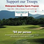 Play Golf and Support our Troops Weekend : September 19th & 20th