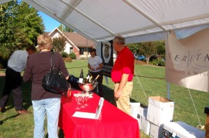 Veritas Winery & Vineyard was also on hand with some of their latest wines.