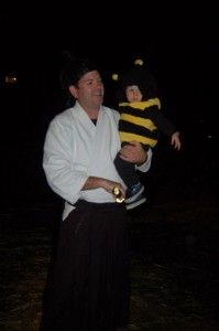 That brewmaster and bee look might familiar. Maybe Taylor Smack and son Hayden??