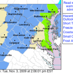 Frost Advisory In Effect Overnight :  Early Wednesday Morning 3AM TO 8AM  - 11.3.09