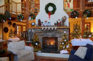 The Trillium House (headquarters for The Wintergreen Nature Foundation) has been beautifully decorated for the upcoming Chrstmas season.