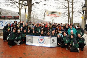 Photos By Paul Purpura : ©2010 www.nelsoncountylife.com : Folks participating in Wintergreen's Weekend Warriors pose for a group shot this past Saturday. Click any photo to enlarge.