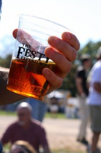 The Festy is all about music certainly, but defintely some of the best microbrews from around the area!