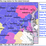 Winter Weather Advisory - CANCELED @ 6:12 AM
